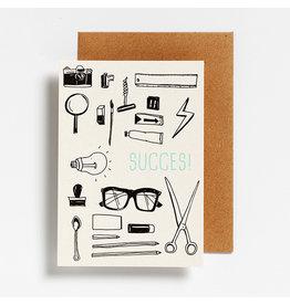 Hello August Postkaart - Succes