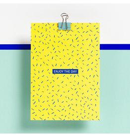 Postkaart - Enjoy the day