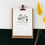 Postkaart - Geniet van de kleine dingen