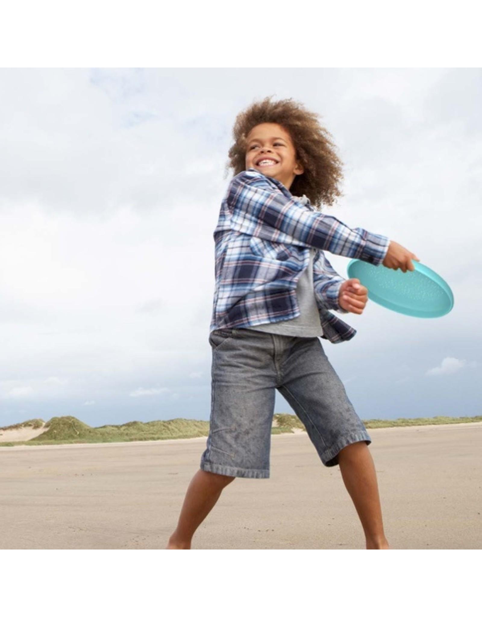 Quut Flying Disc + Sand Sifter Vintage Blue