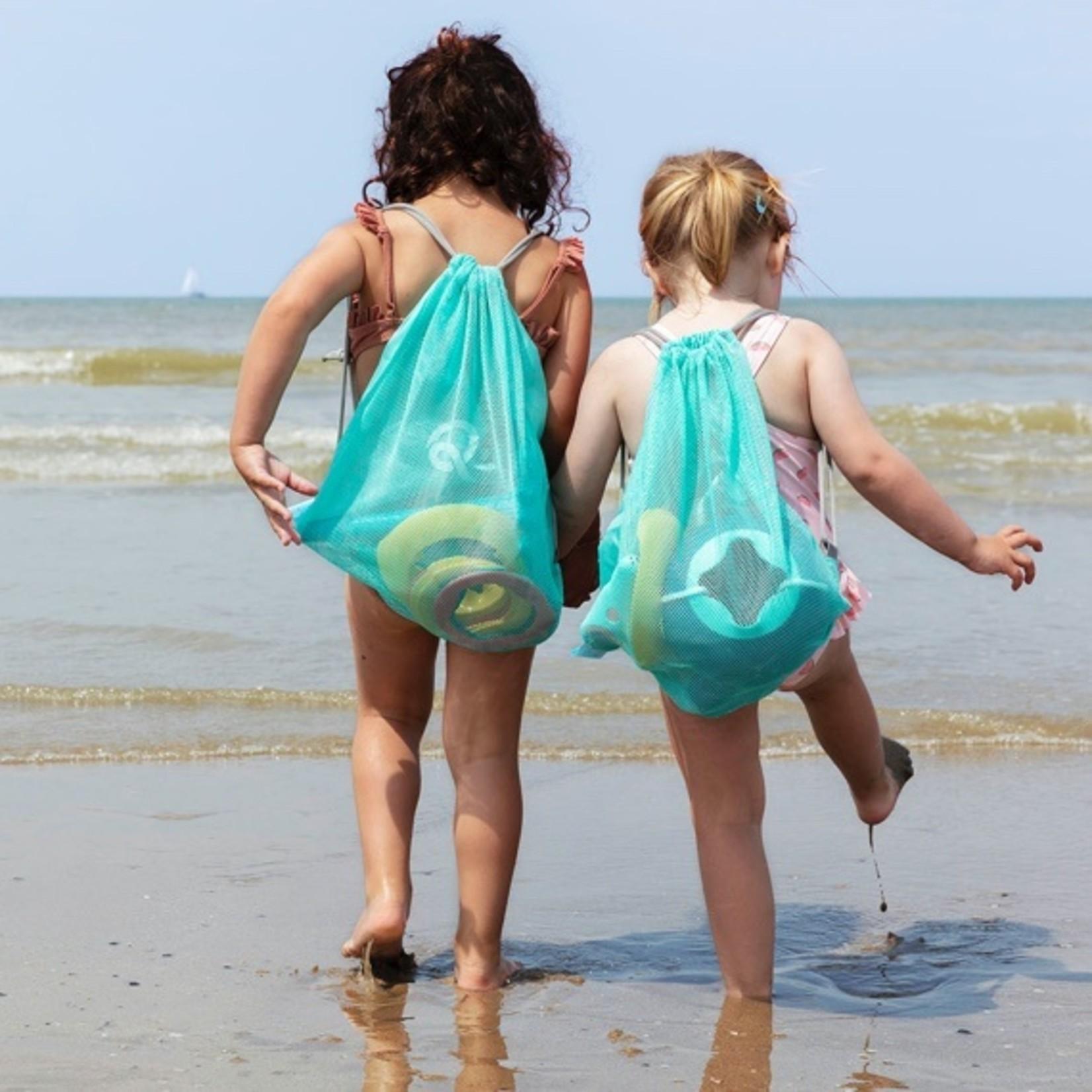Beach Set : 1 Triplet + 1 Ringo combi (6rings + 1 ball) + 1 mesh bag