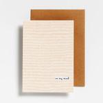 Postkaart - On my mind