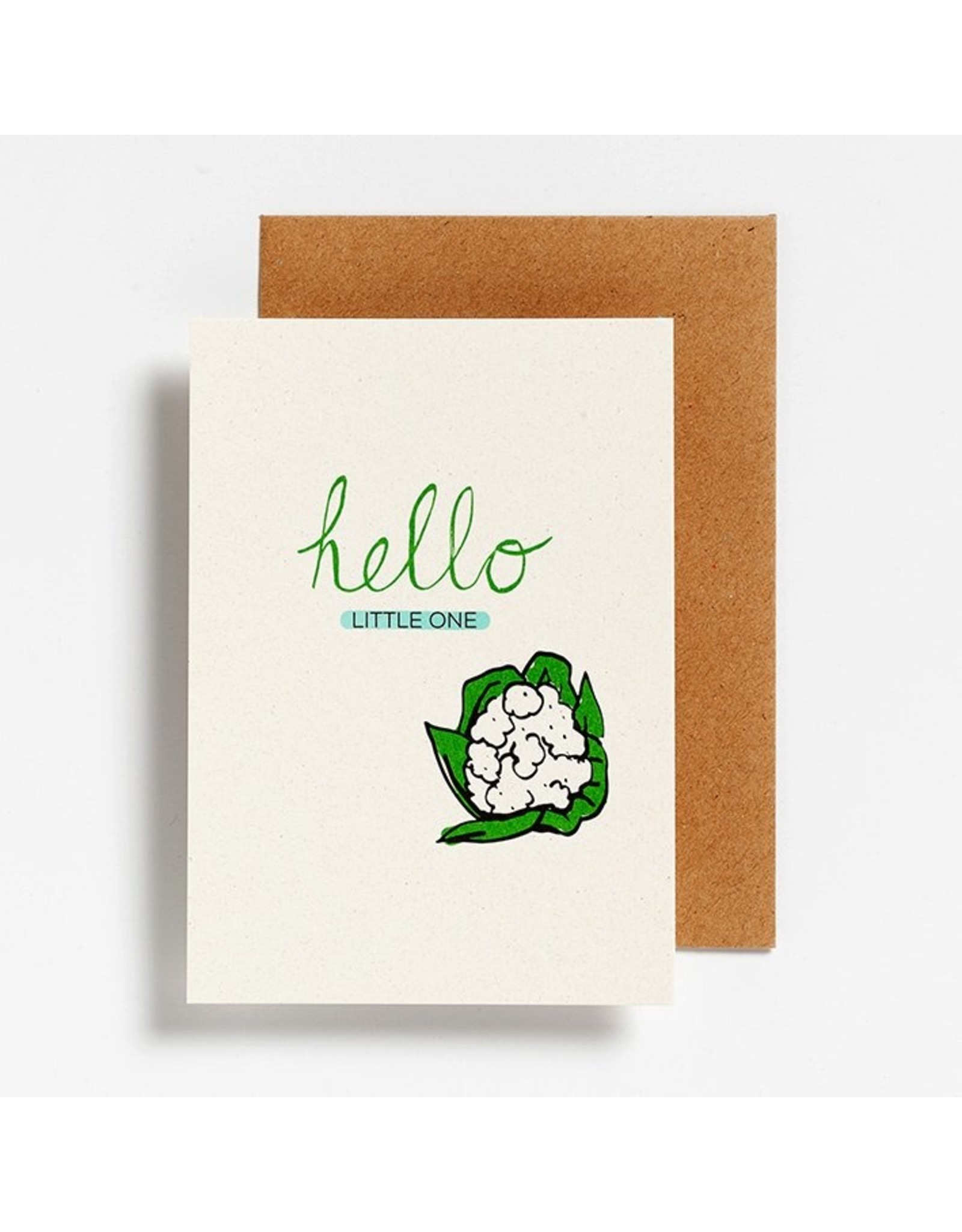 Hello August Postkaart - Hello little one