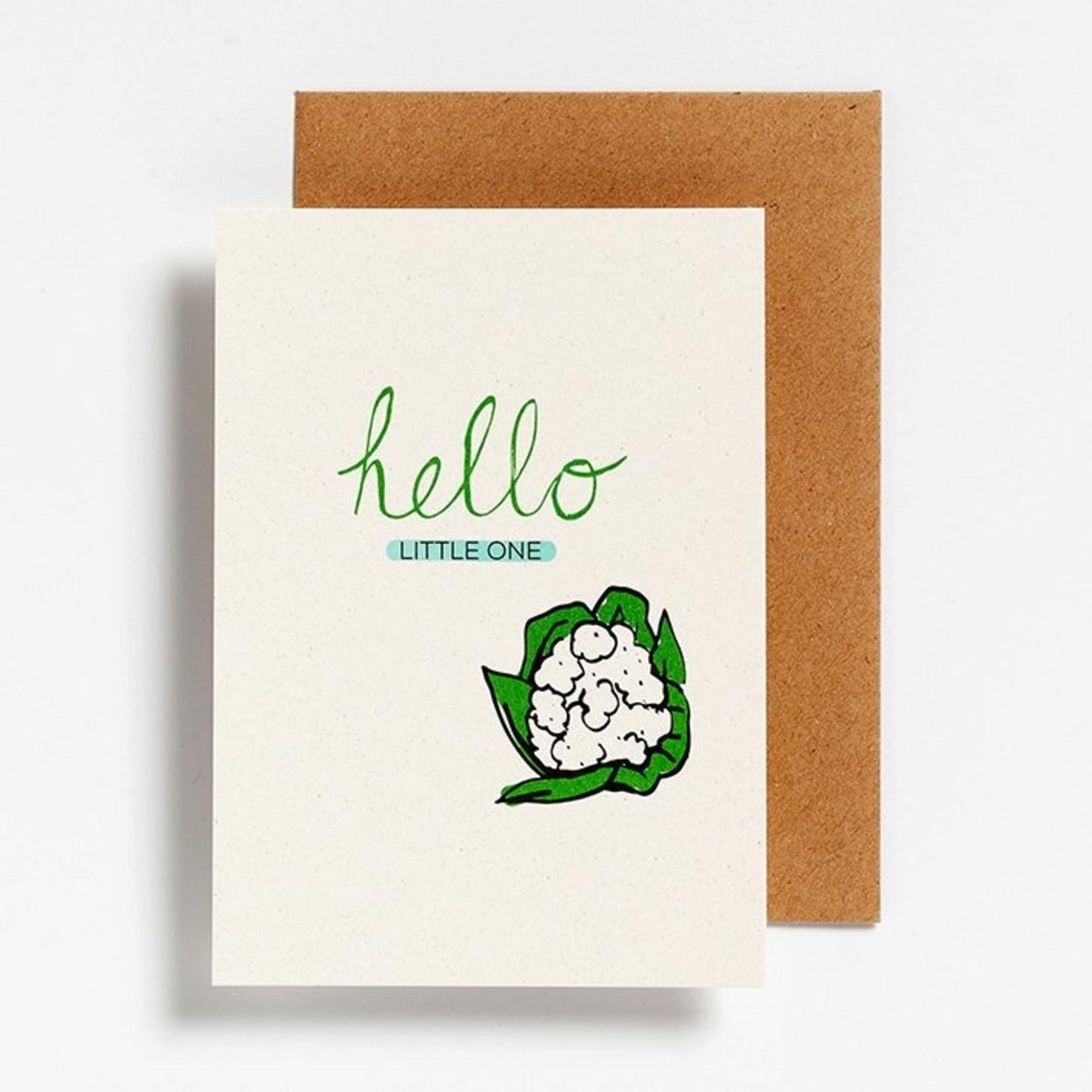 Postkaart - Hello little one
