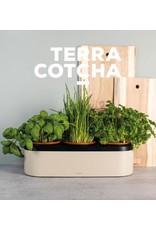 Gusta Bloempot Bamboe Fiber 3 vaks - Terracotcha
