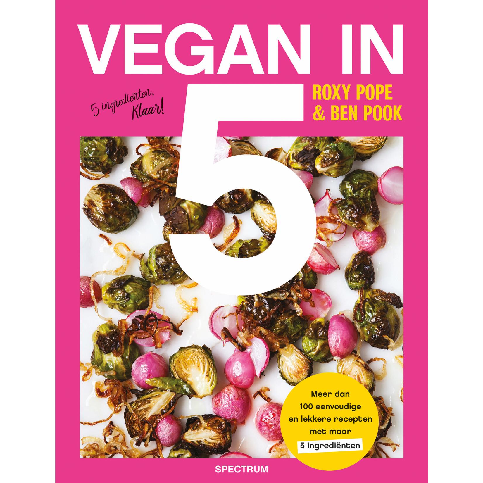 Vegan in 5 kookboek