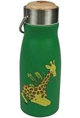 The Zoo Thermosfles RVS dubbelwandig - Giraf