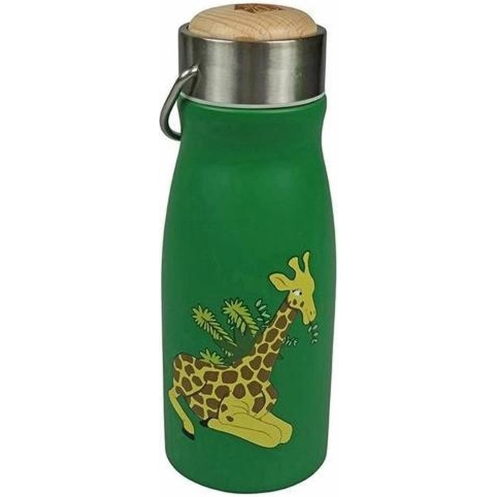 Thermosfles RVS dubbelwandig - Giraf