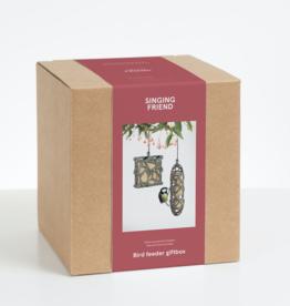 Gift box wildbird feeder Sam/Anna + wildbird food