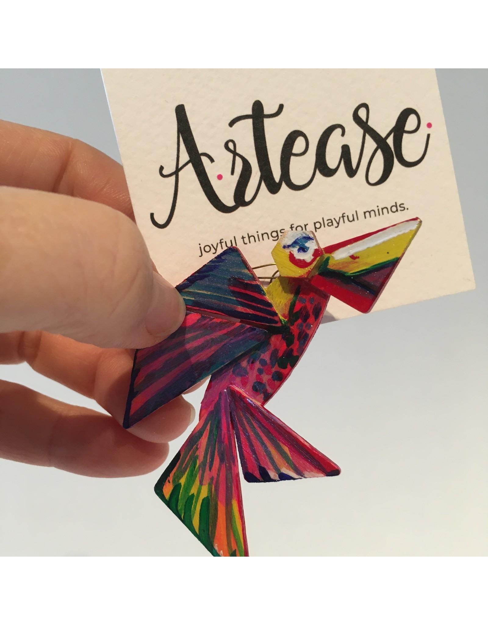 Arteasme Broche vogel Artease