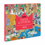 OMY Kleurposter Fantastic met stickers