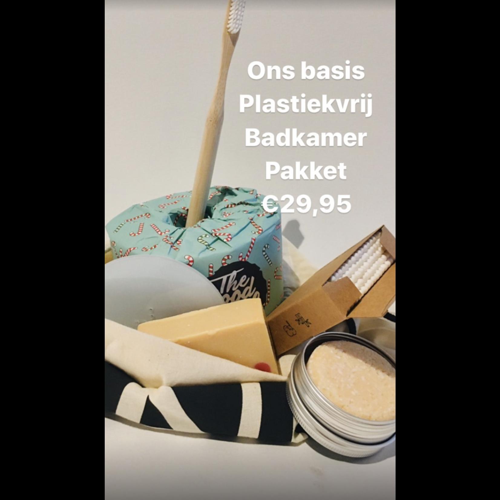 Het 'plastiekvrije badkamer' pakket