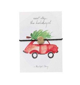 A Beautiful Story Juweel postkaart holidays