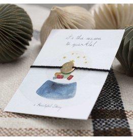 A Beautiful Story Juweel postkaart sparkle