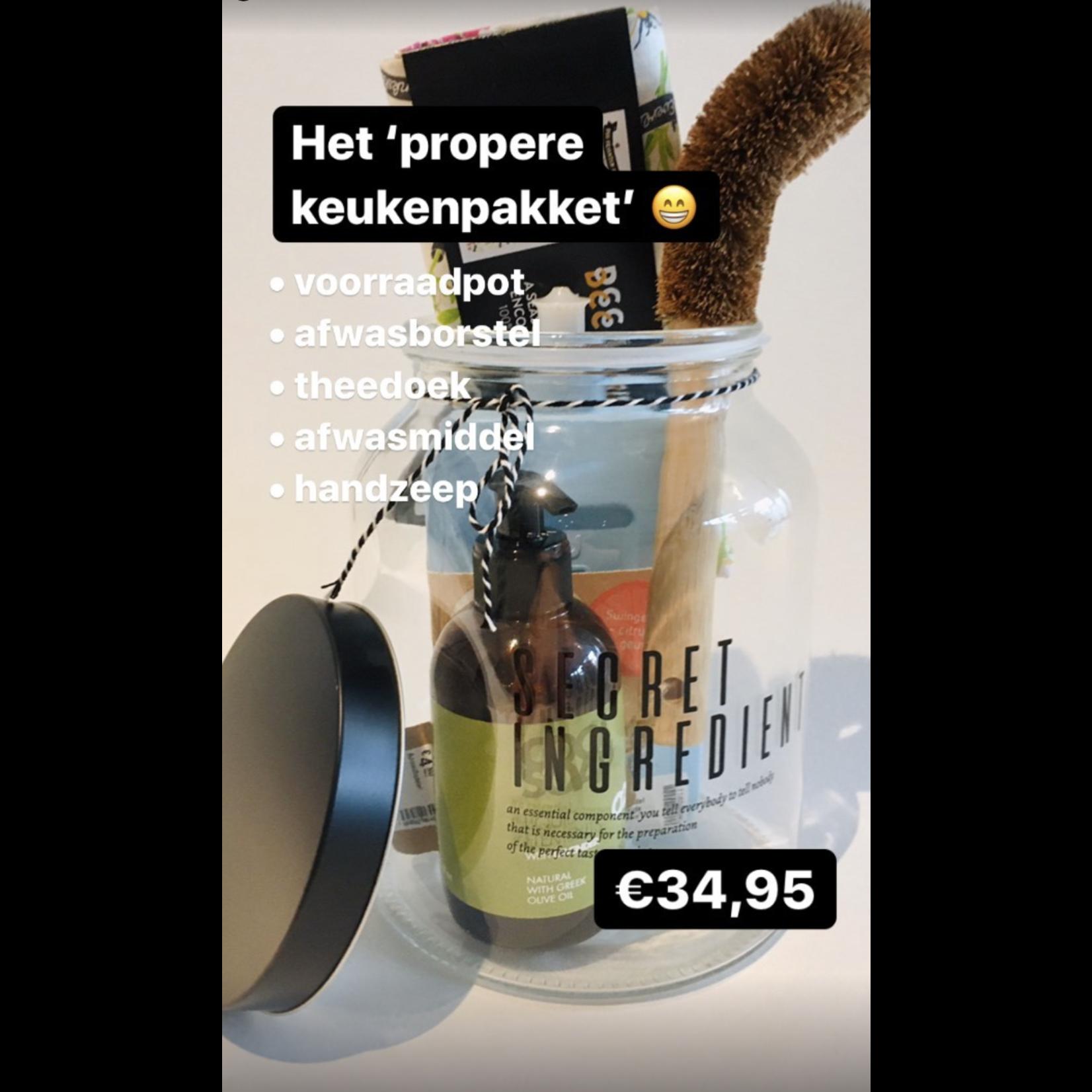 Het 'propere-keuken' pakket