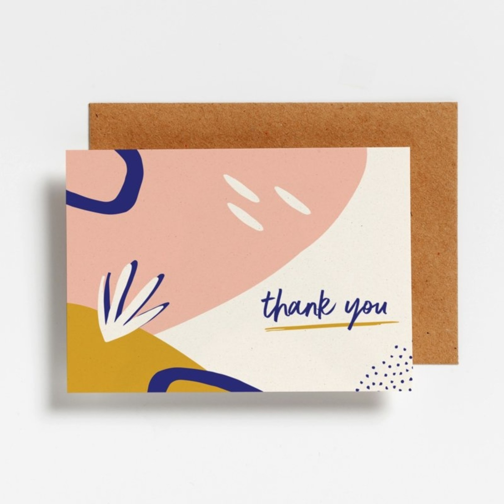 Postkaart - Thank you