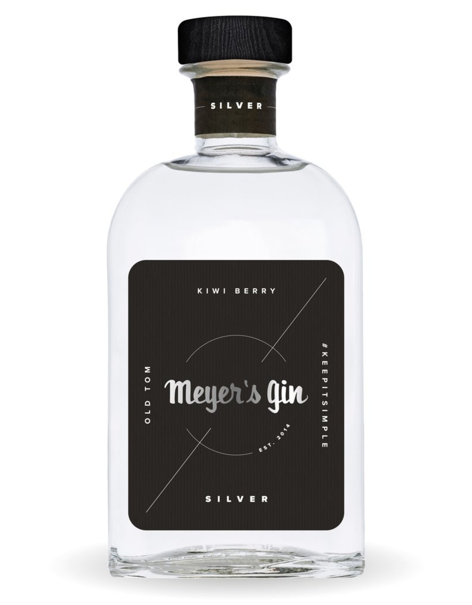 Meyer's gin silver 38% 50cl