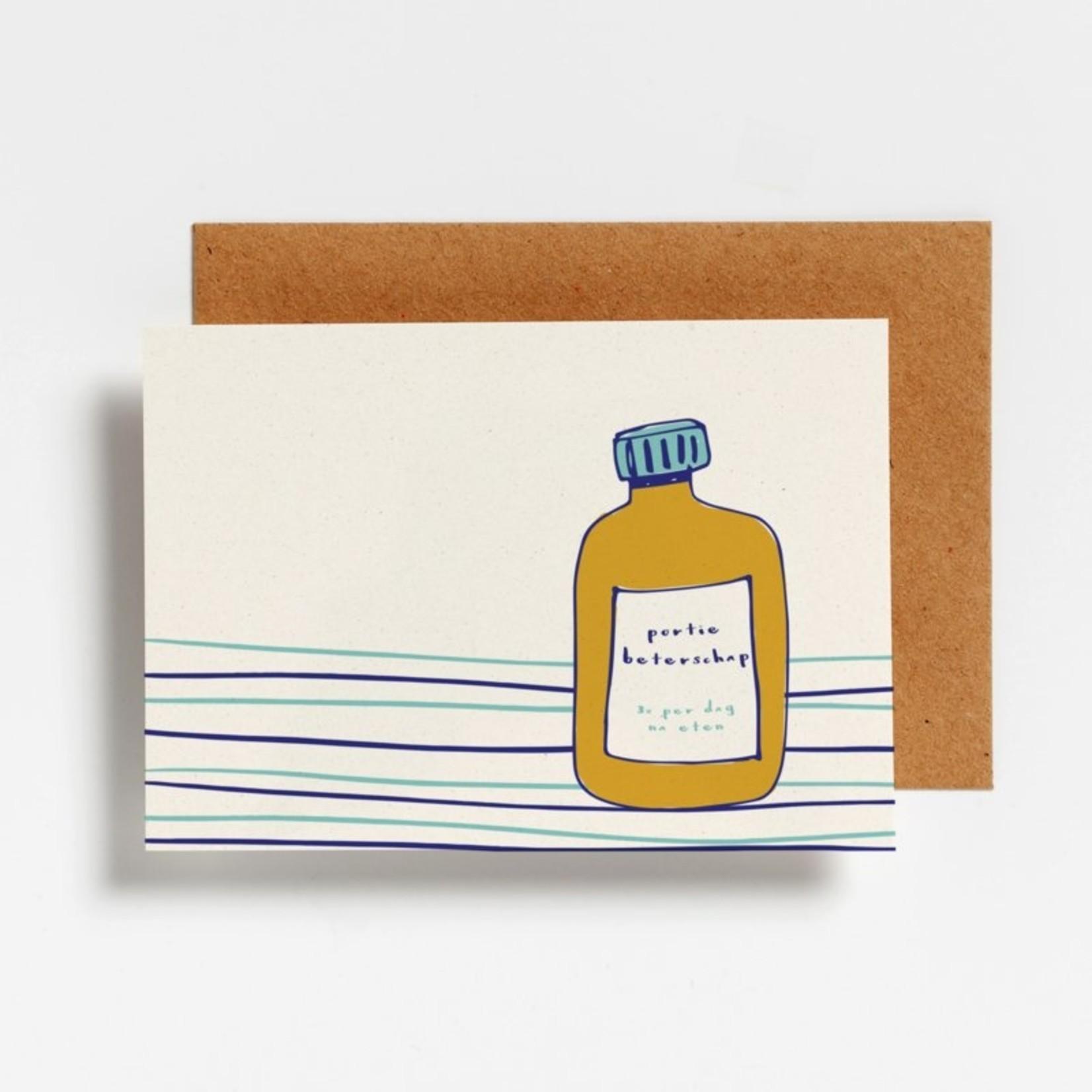 Postkaart - Portie Beterschap