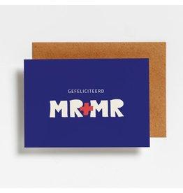 Postkaart - Mr & Mr