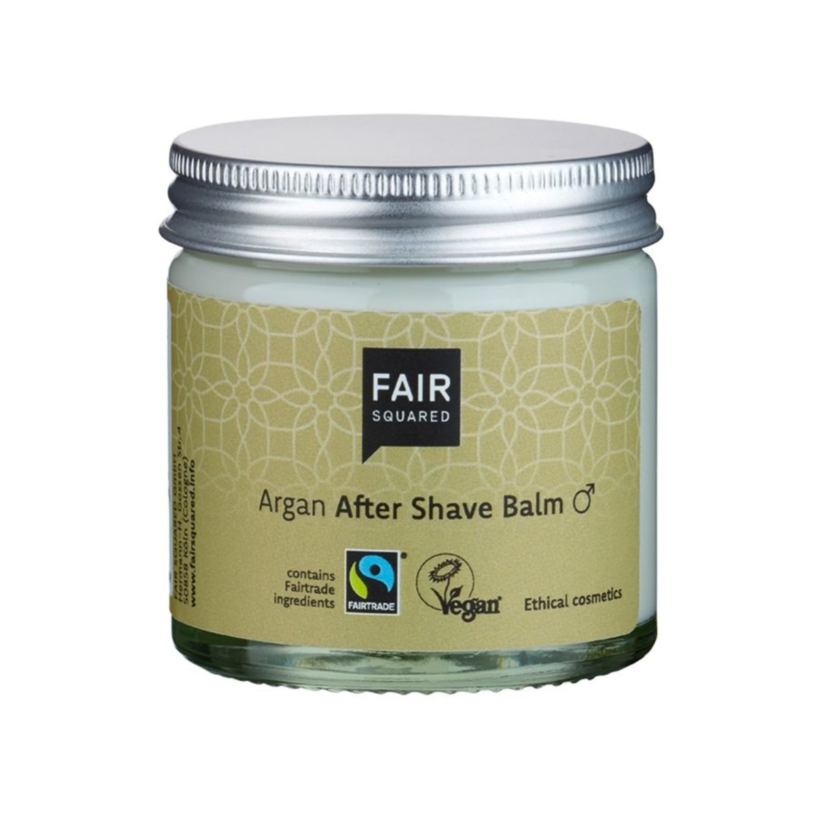 After shave balm man Argan
