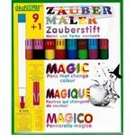 9 magische stiften + 1 geheimschrijver