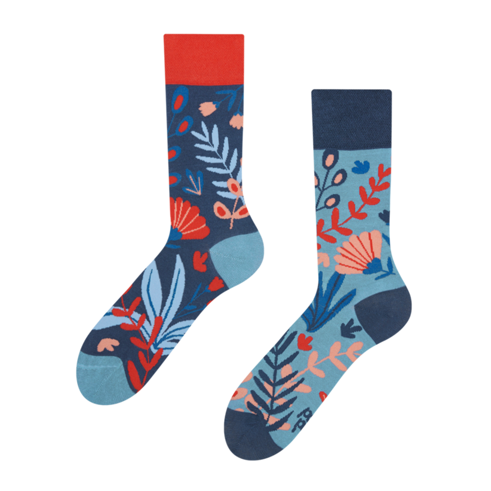 Vrolijke bamboe sokken