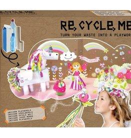 Re-Cycle-Me Knutsel een Eenhoorn wereld
