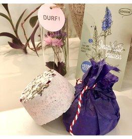 Huisgemaakte badbruisbal lavendel