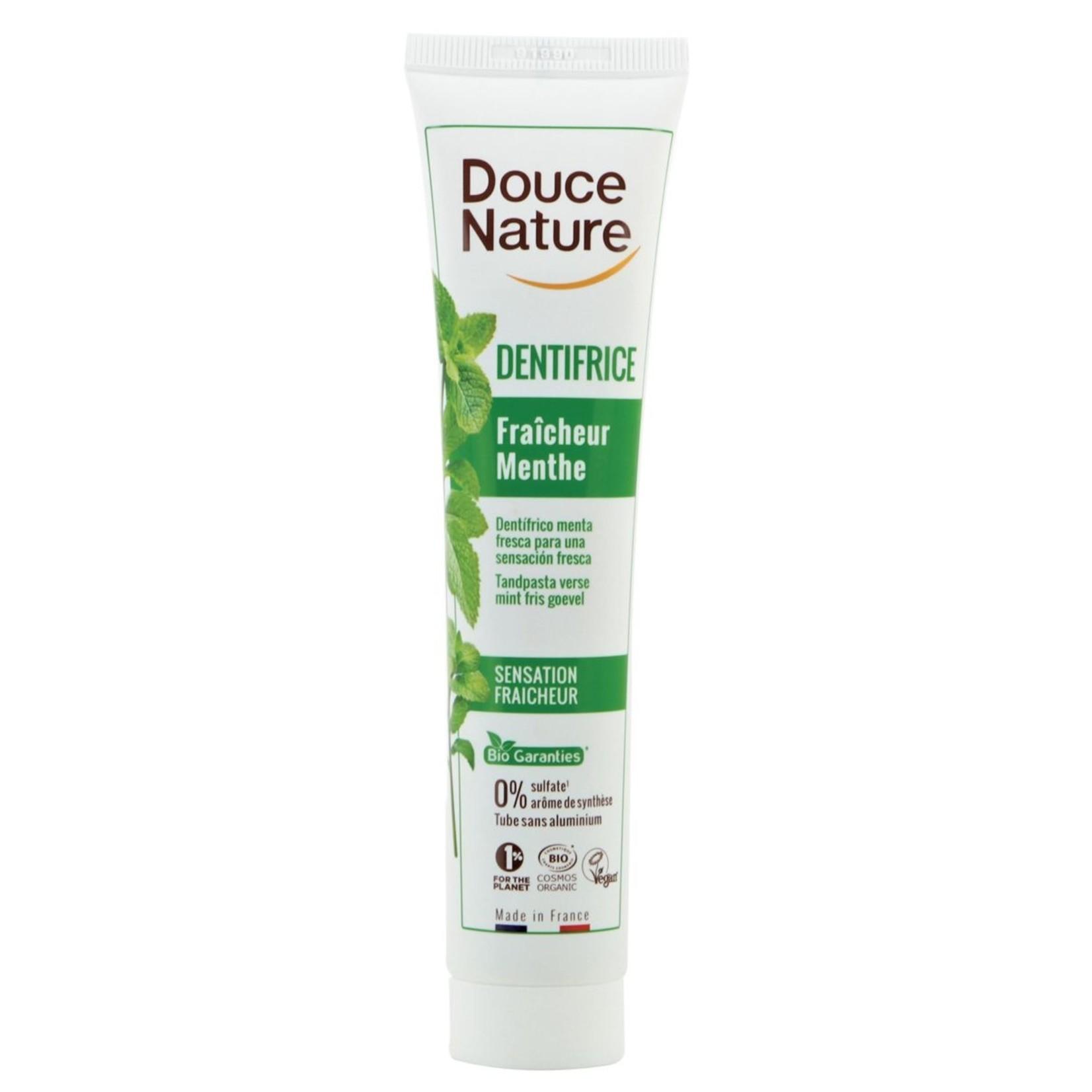 Bio tandpasta met munt voor een frisse adem 75 ml