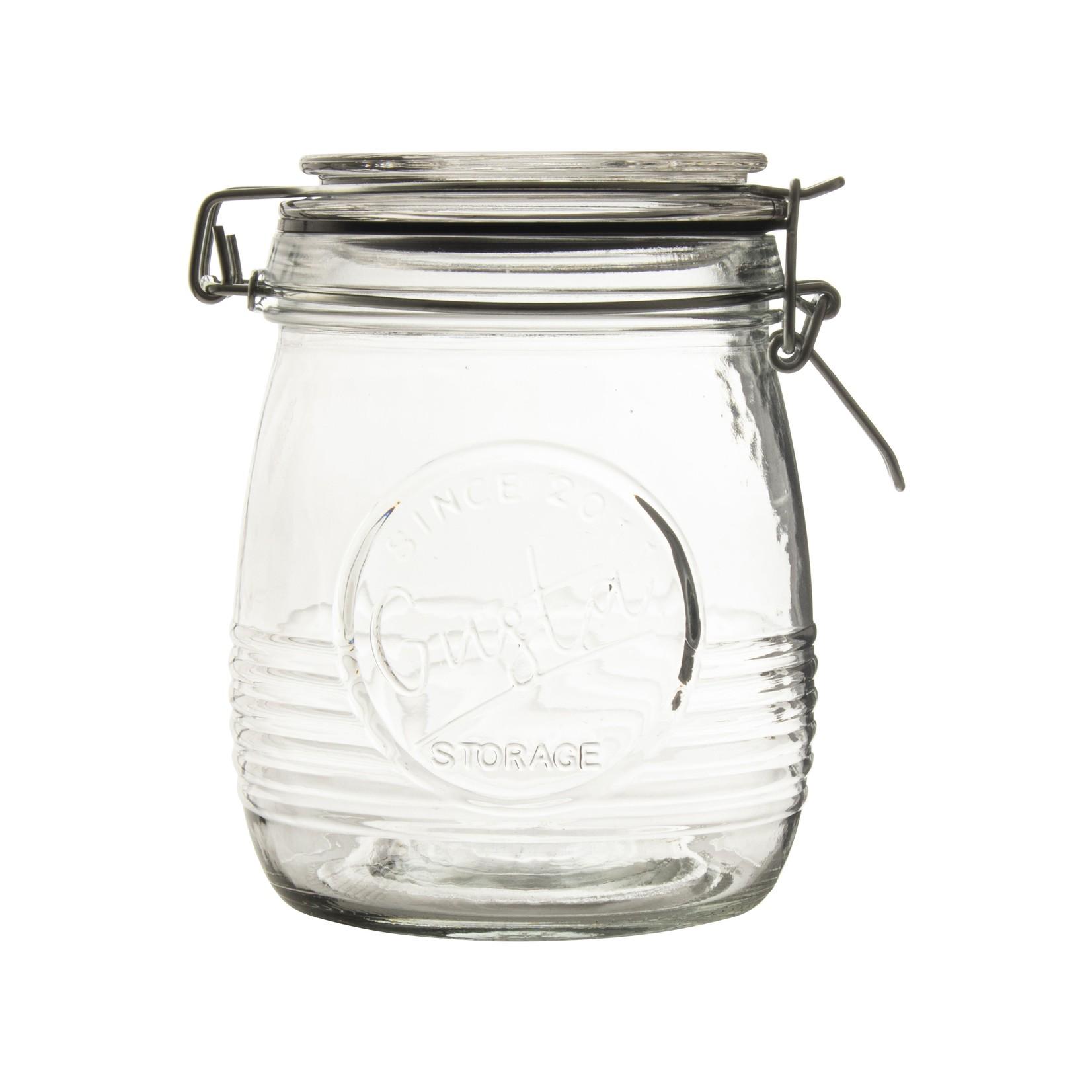 Voorraadpot glas 750ml