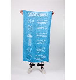Be the fibre Seatowel, badhanddoek blauw 100x170cm