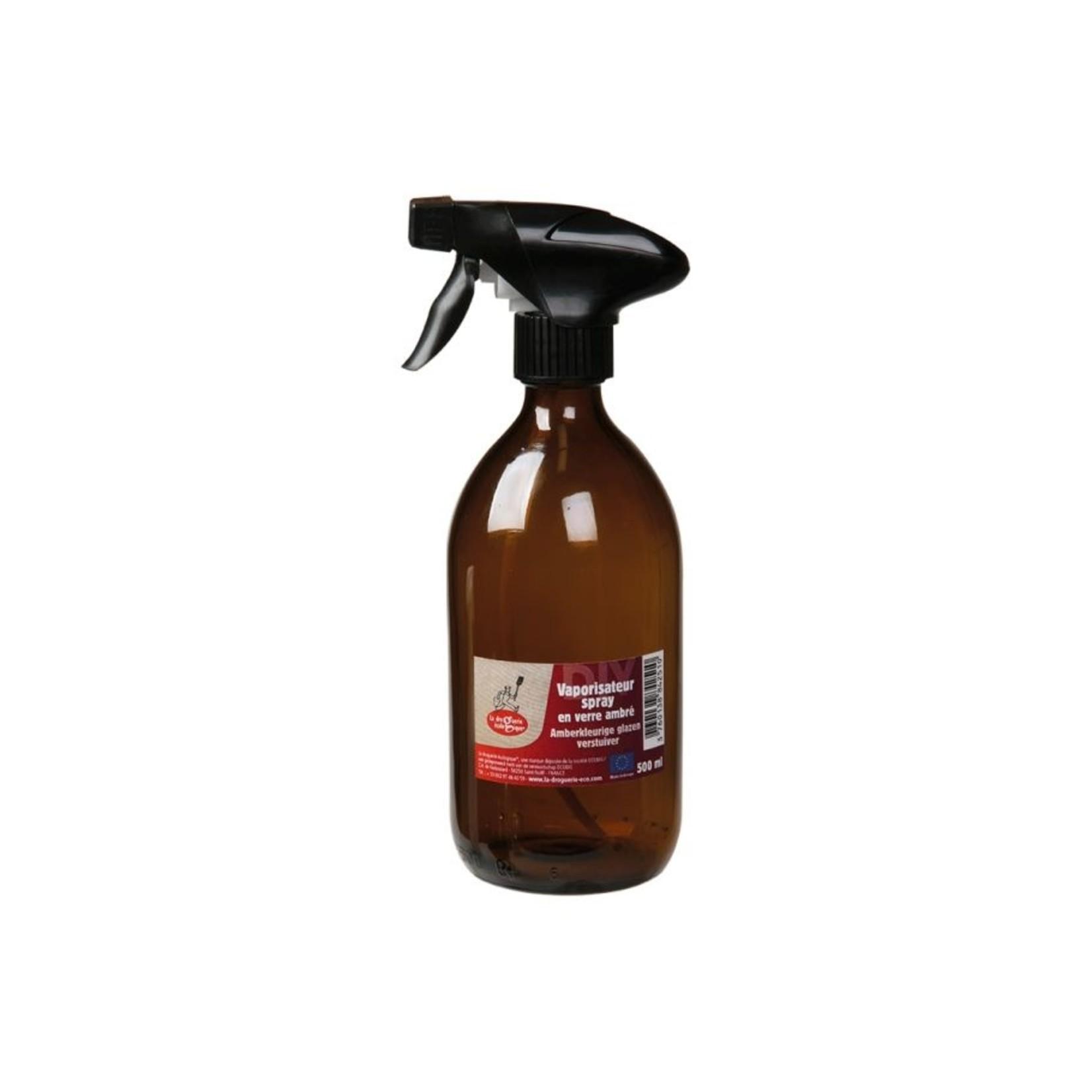 Glazen sprayfles 500ml amber
