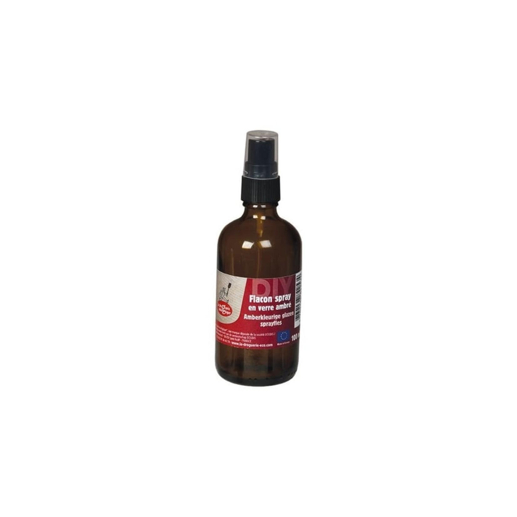 La droguerie écologique Glazen sprayflesje 100ml amber