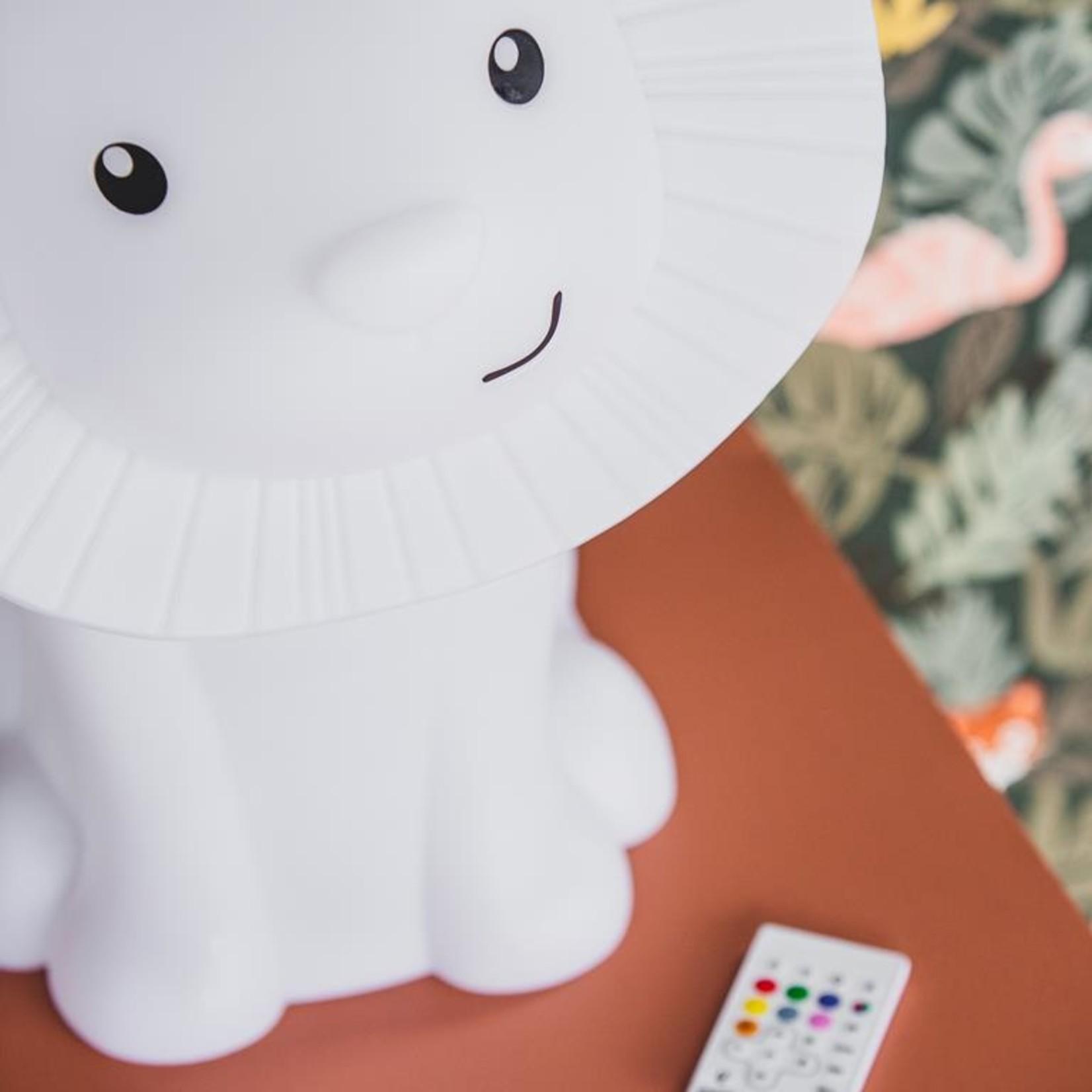 Atelier Pierre Hakuna lion draadloze speaker, licht & USB