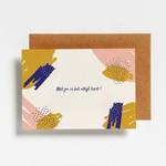 Postkaart - Met jou is het altijd feest