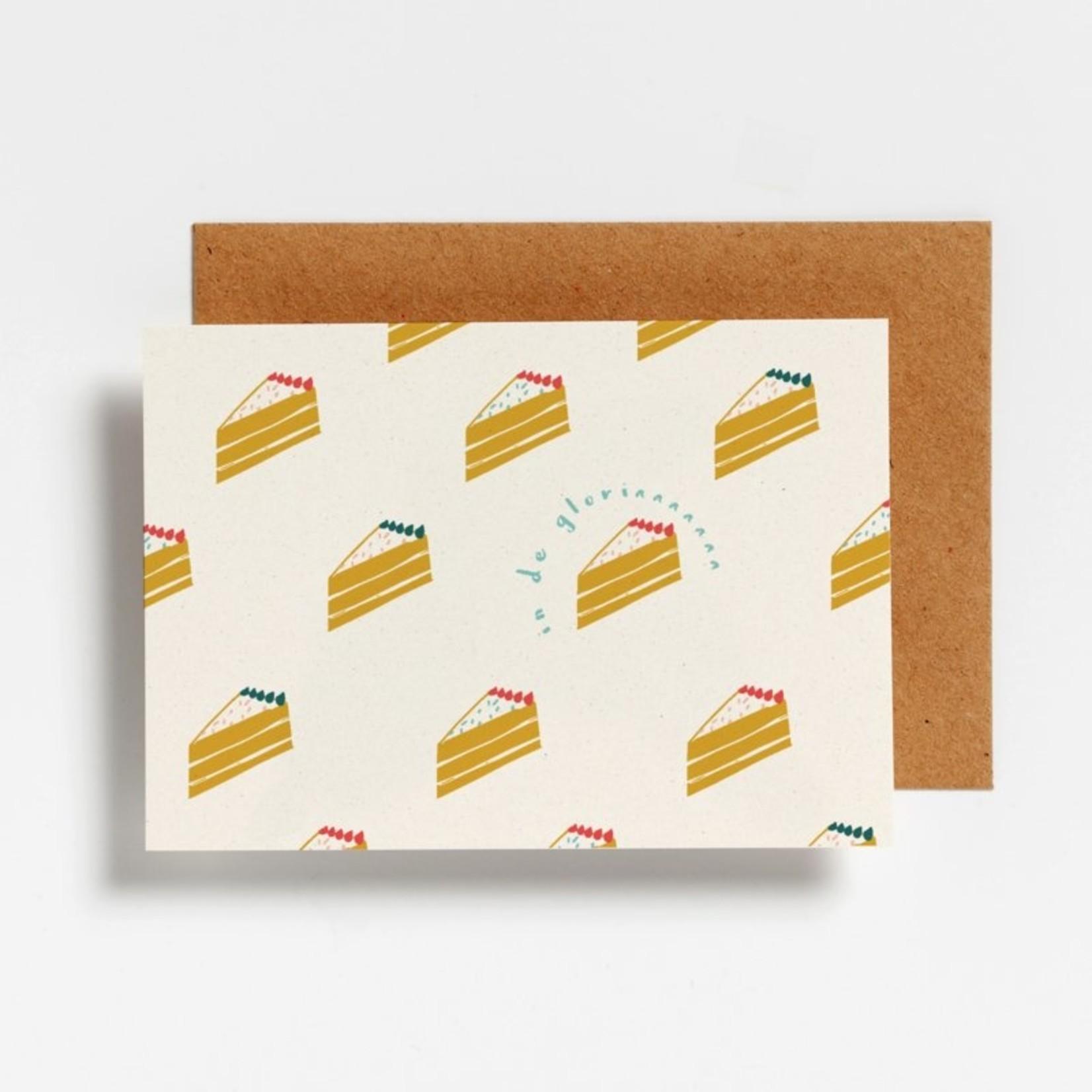 Postkaart - In de gloriaaaa
