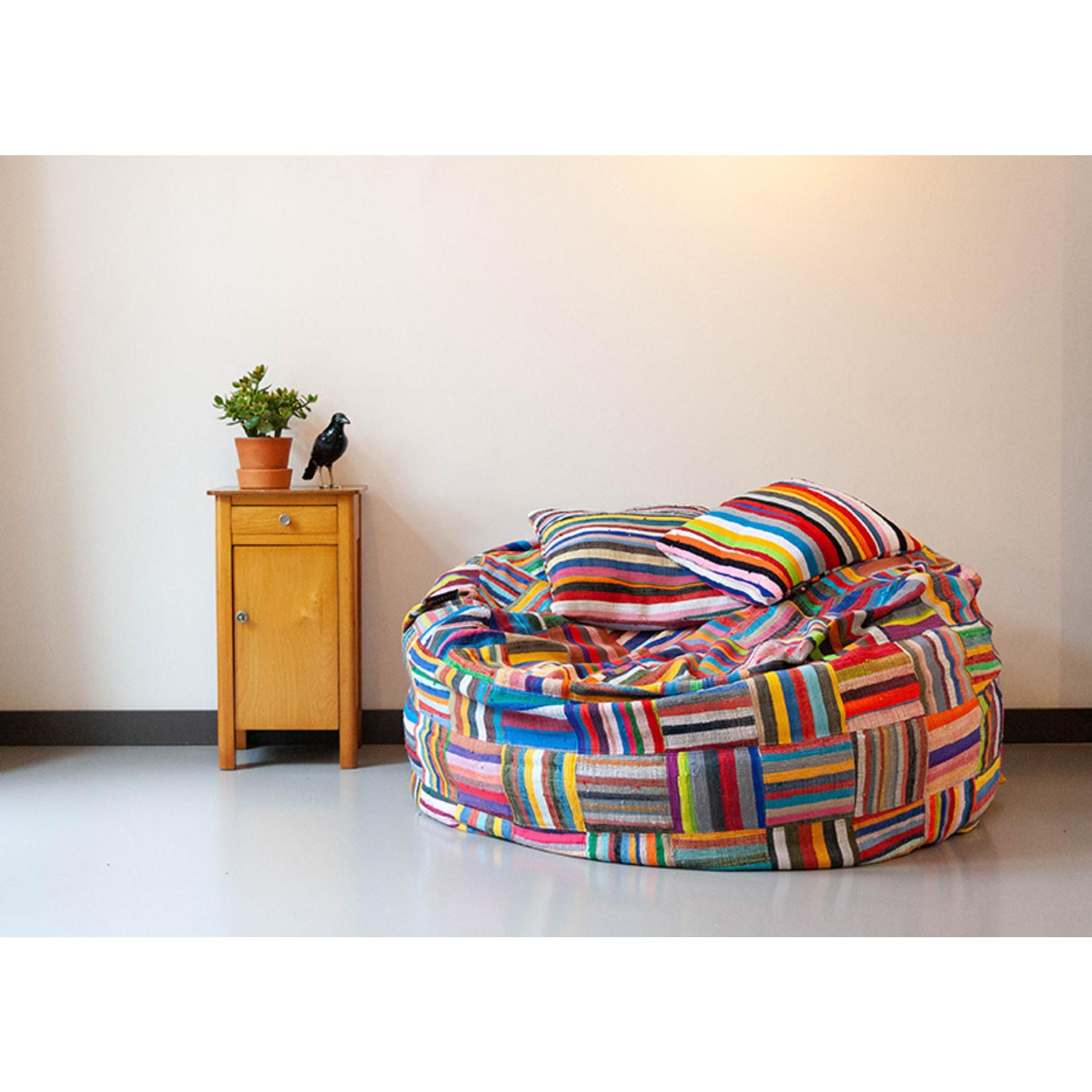 Ashanti design Big Bori Bori zitzak dia120cm