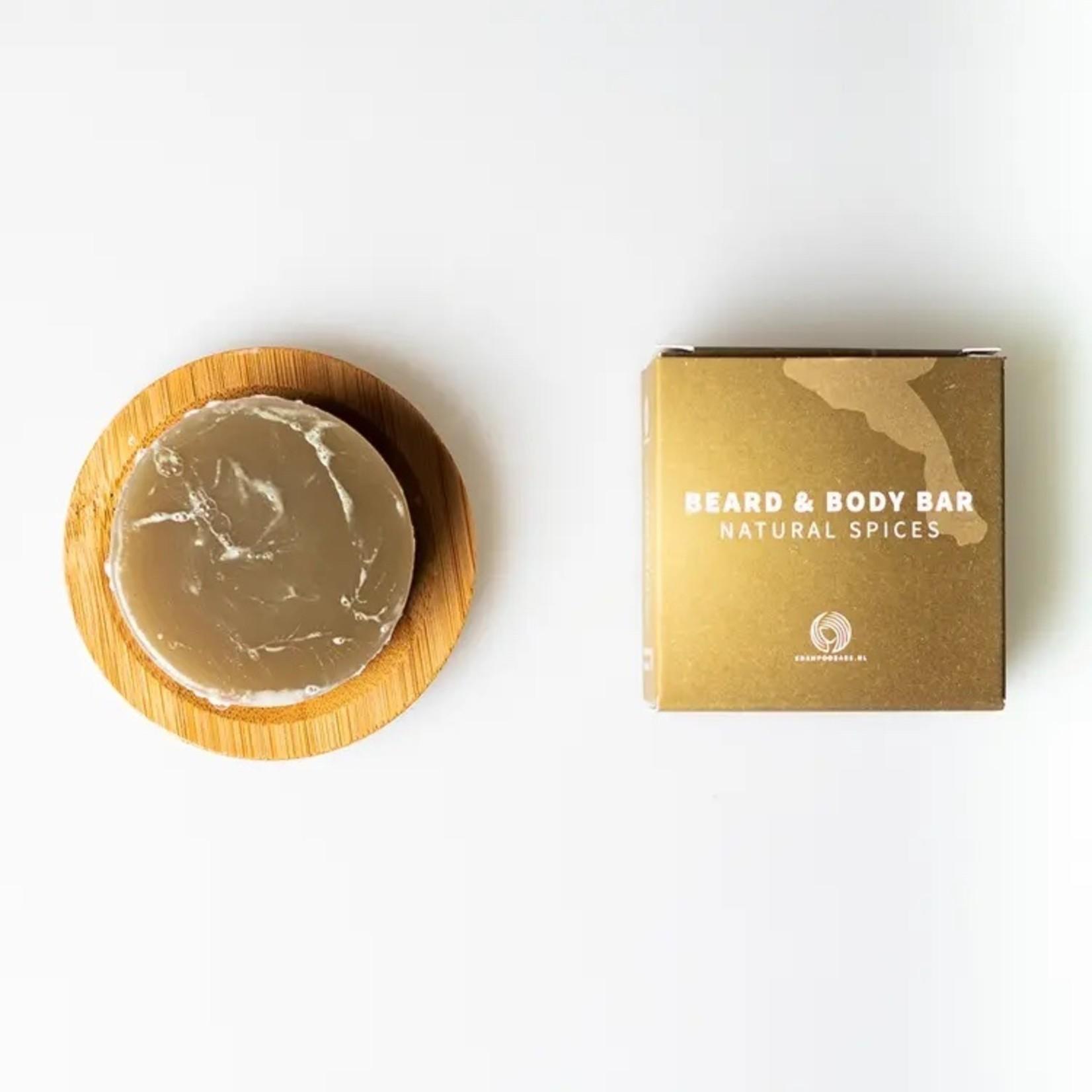 Baard & Body Bar natural spices
