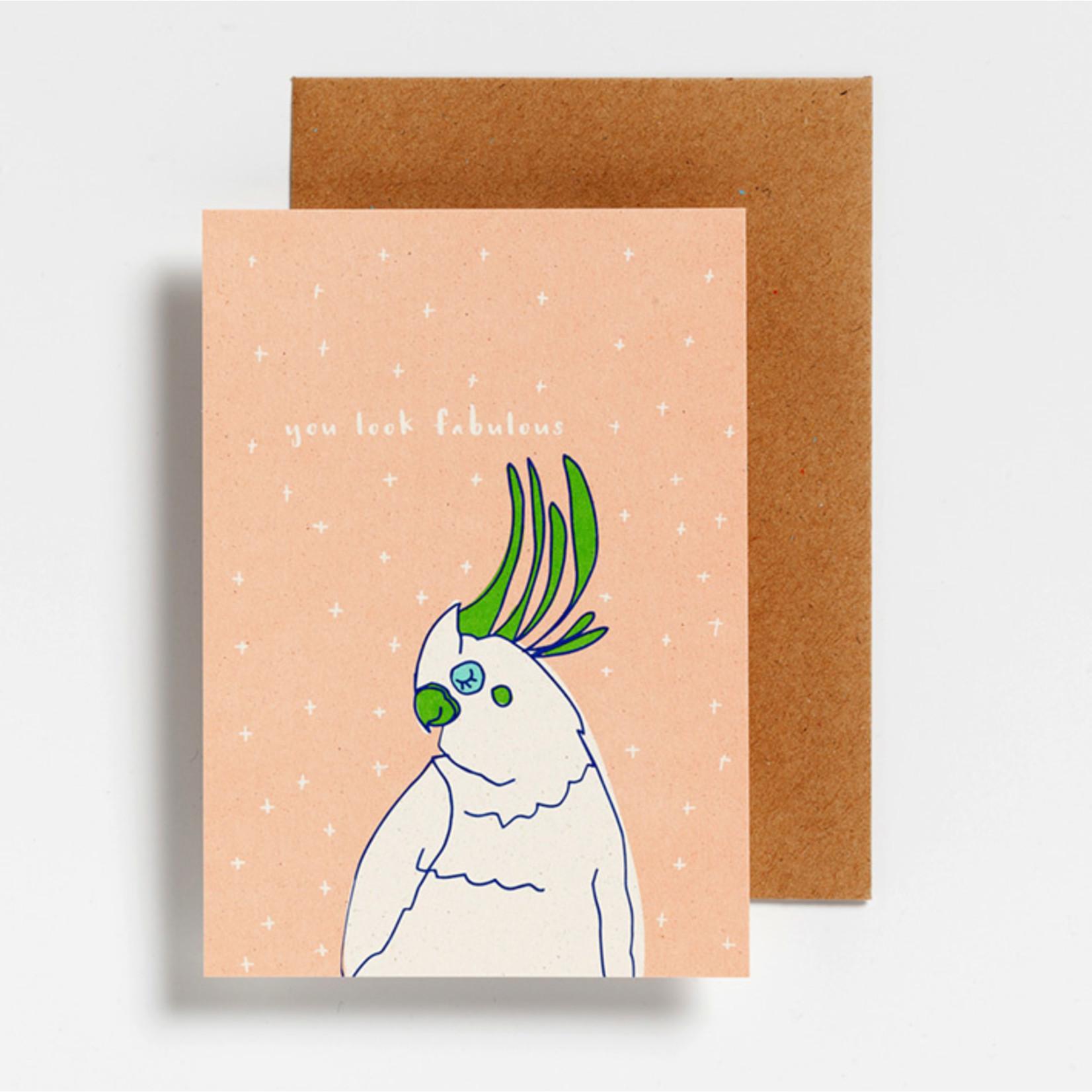Postkaart - You look fabulous
