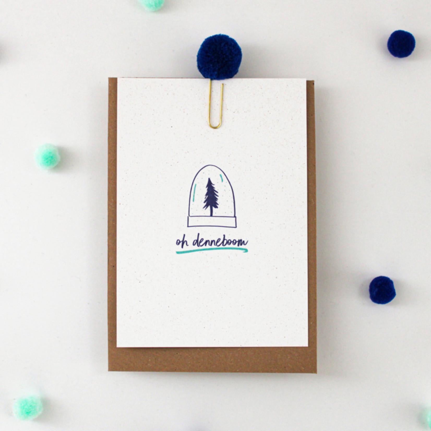 Postkaart - Oh Denneboom