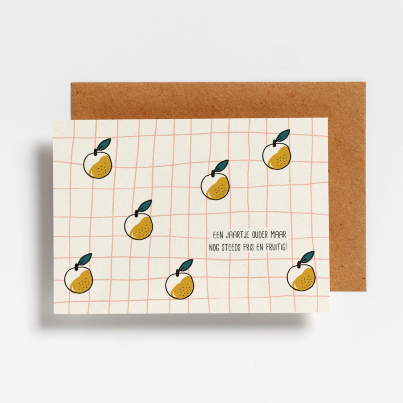 Postkaart - Fris en fruitig