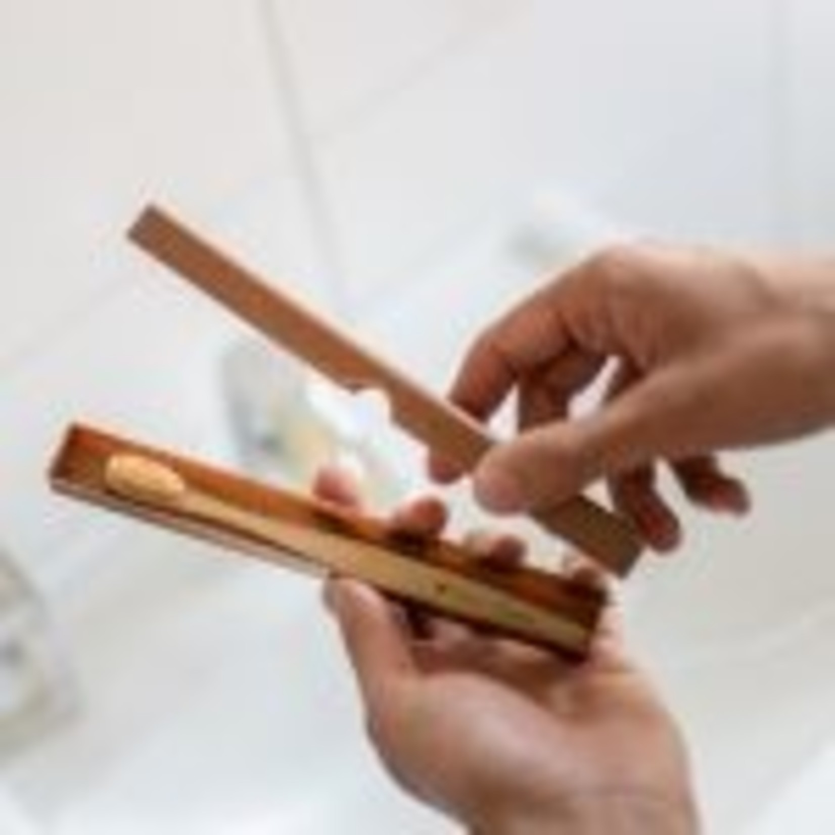 Tandenborstel case licht