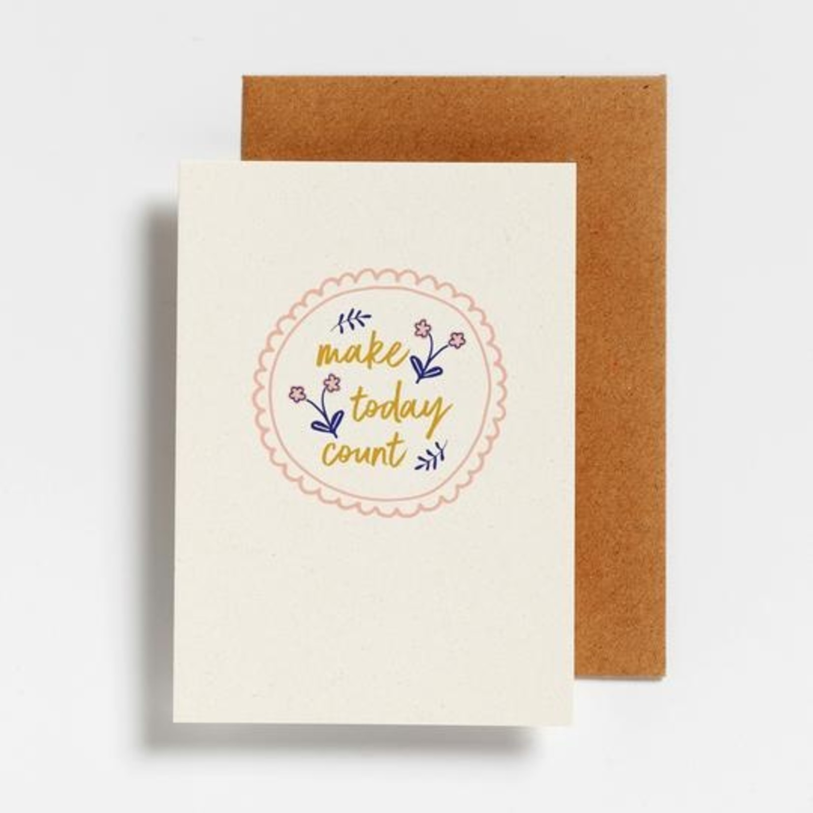 Postkaart - Make today count