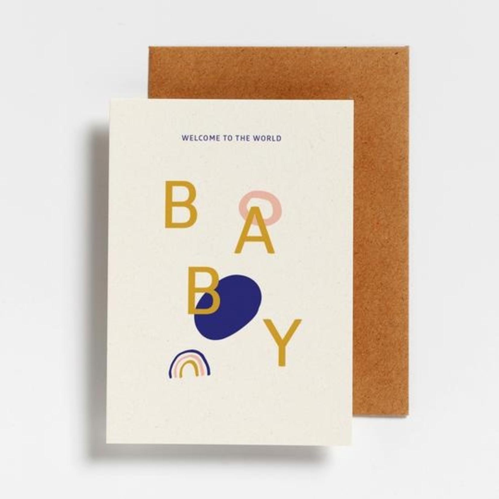 Postkaart - Welcome to the world baby