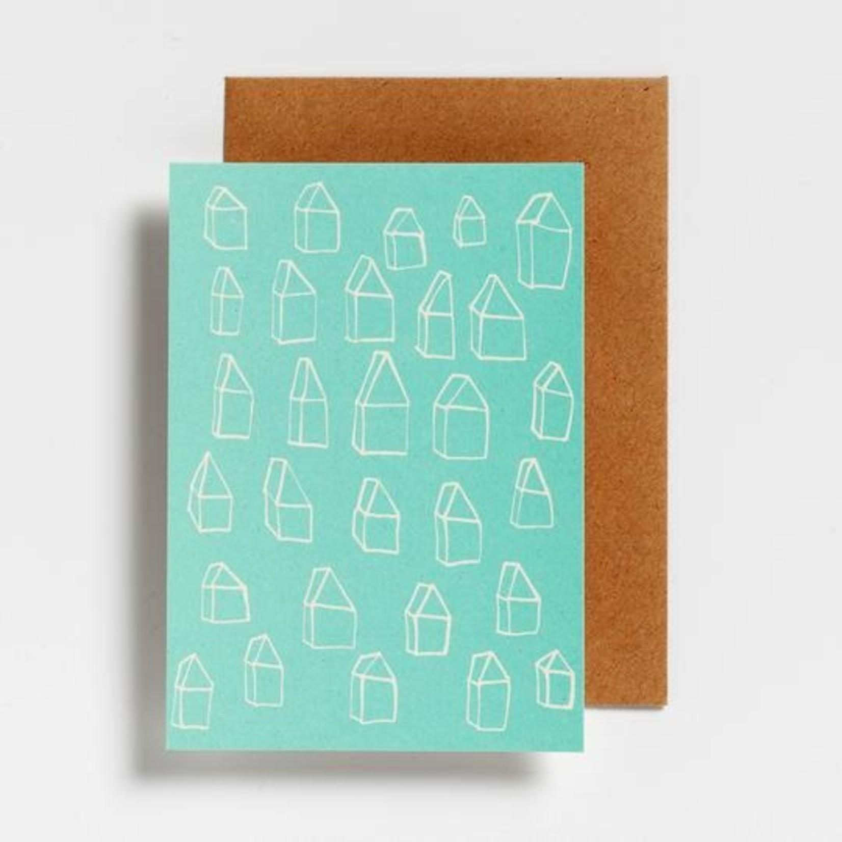Postkaart - Huisjes