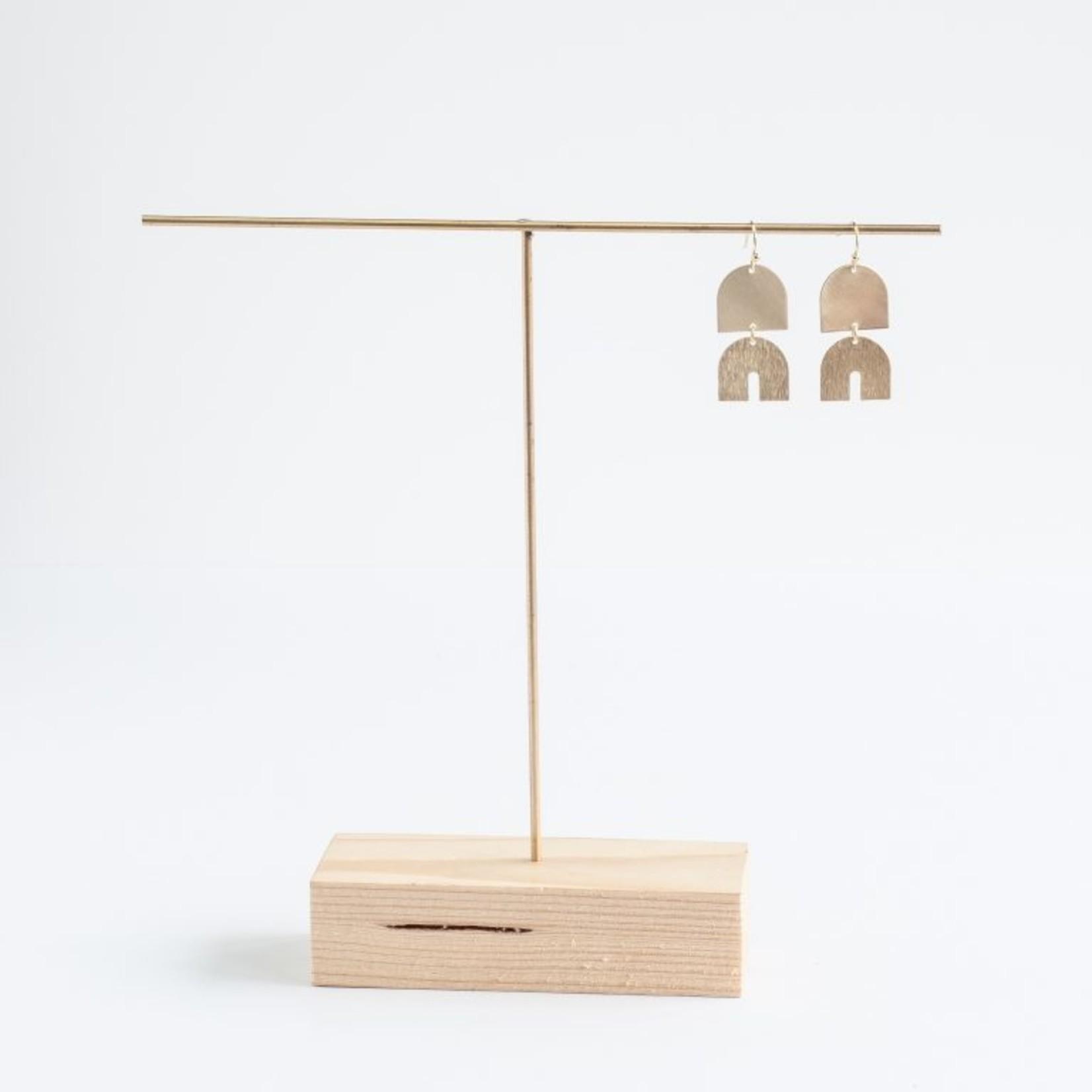 Inimini Homemade Brass elephant dangle