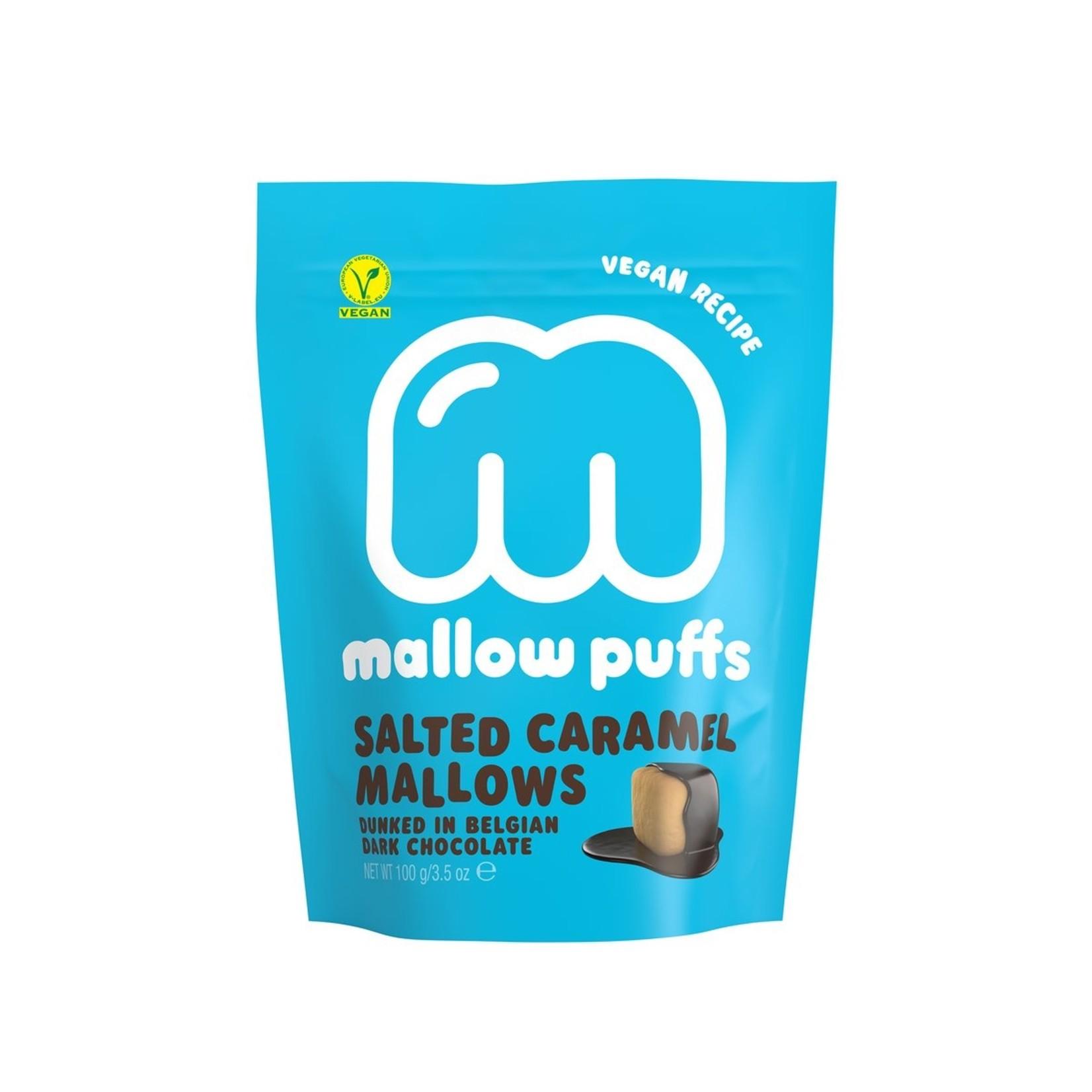 Baru Vegan Salted Caramel Mallows dunked in Belgian Dark Chocolate 100g