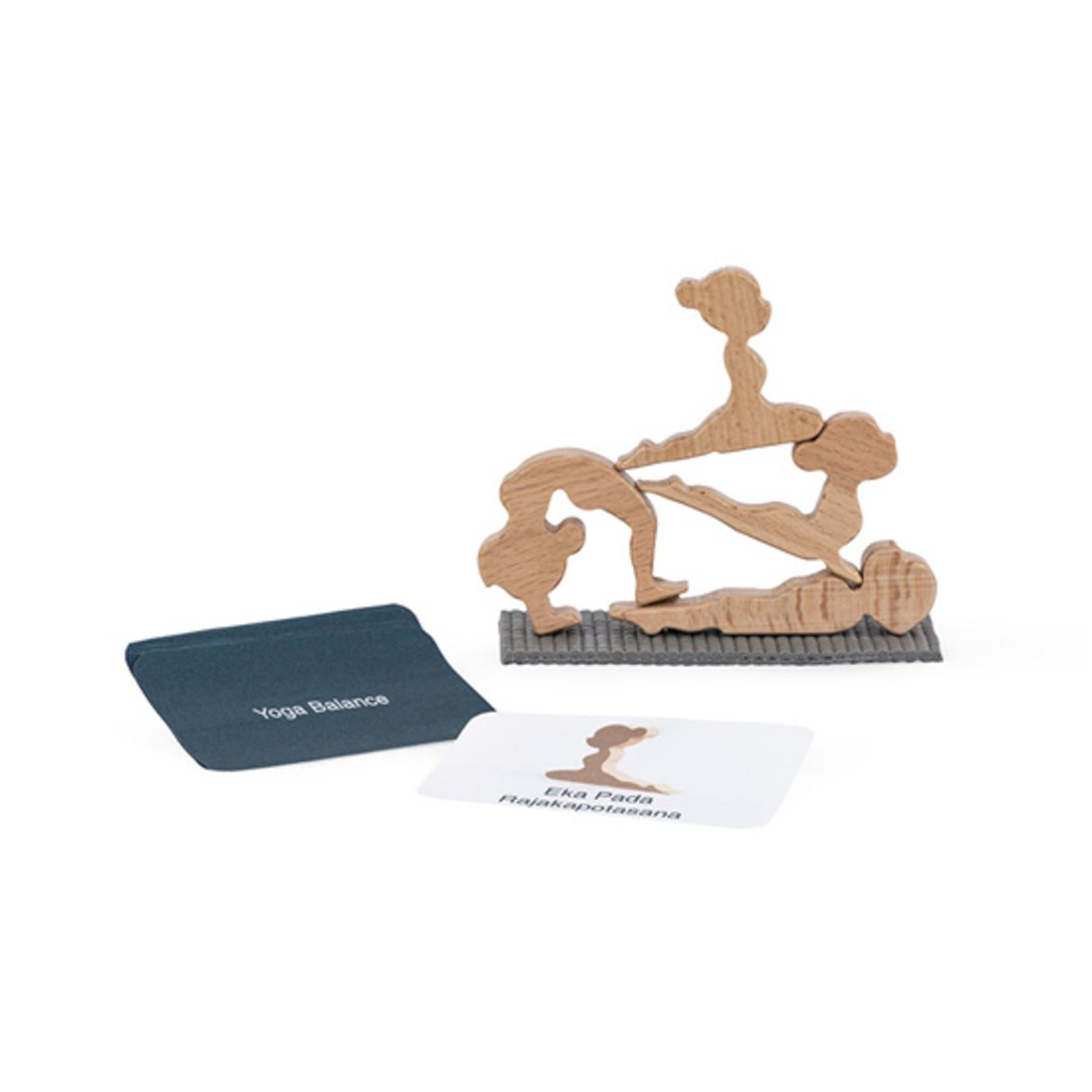 Yoga balans spelletje - hout
