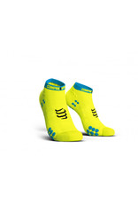 Compressport Pro Racing Socks V3.0 Run Low Chaussettes De Running Bas - Jaune