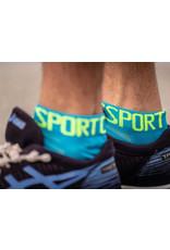 Compressport Pro Racing Socks V3.0 Ultralight Run Low Chaussettes De Running - Bleu